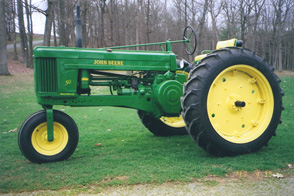 John Deere, JD50 Restored in 2013