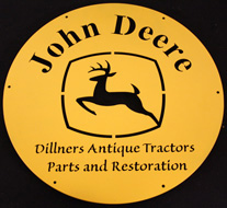 Dillners Antique Tractors Logo